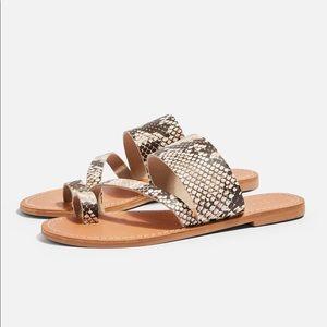 Topshop Leather Sandals